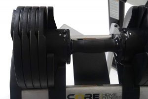 Core Fitness Adjustable Dumbbells
