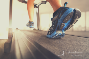 Best treadmill for seniors cropped walking on belt surface
