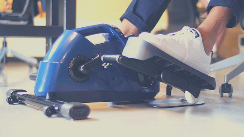 stylish under desk elliptical