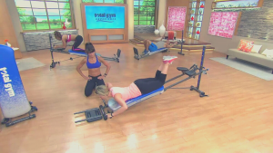 Total Gym models and users as seen on TV